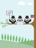 Comical United Kingdom Trade Delegation Stock Images