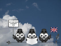 Comical United Kingdom Trade Delegation Stock Photos