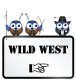 Wild West Royalty Free Stock Photos
