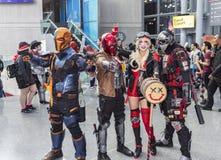 ComicCon NYC 2018 stock photo