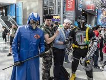 ComicCon NYC 2018 stock image
