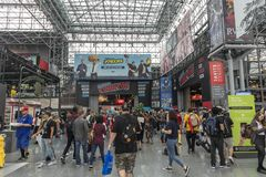 ComicCon NYC 2018 royalty free stock photography