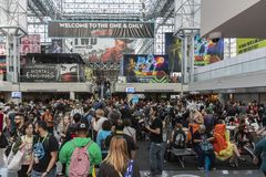 ComicCon NYC 2018 stock images