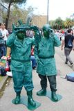 Comicon Νάπολη, Ιταλία 2014 Στοκ εικόνα με δικαίωμα ελεύθερης χρήσης