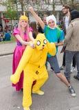 Comicon 2016 - Νάπολη Ιταλία Στοκ εικόνα με δικαίωμα ελεύθερης χρήσης