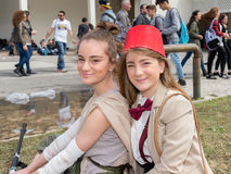 Comicon 2016 - Νάπολη Ιταλία Στοκ εικόνες με δικαίωμα ελεύθερης χρήσης