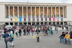 Comicon 2016 - Νάπολη Ιταλία Στοκ Φωτογραφίες