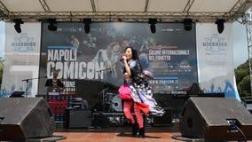 Comicon Νάπολη 2014 απόθεμα βίντεο
