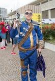 Comicon 2016 - Napels Italië Royalty-vrije Stock Afbeelding