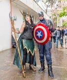 Comicon 2016 - Napels Italië Royalty-vrije Stock Fotografie