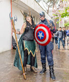 Comicon 2016 - Naples- Italy Royalty Free Stock Photography