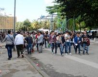 Comicon Naples Italy 2014 Stock Photos