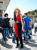 Comicon Naples Italy 2014 Royalty Free Stock Images