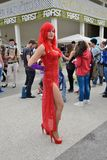 Comicon Naples, Italy 2014 Stock Images