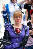 Comicon Naples, Italy 2014 Royalty Free Stock Images