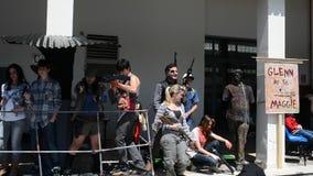 Comicon Naples 2014 stock video footage