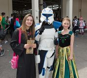 Comicon 2015 - offentlig händelse Royaltyfri Fotografi