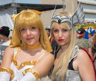 Comicon 2015 - public event Royalty Free Stock Photography