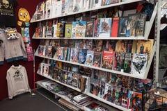 Comics στην επίδειξη Festival del Fumetto στη σύμβαση στο Μιλάνο, Ιταλία Στοκ φωτογραφία με δικαίωμα ελεύθερης χρήσης