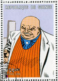 Comics character. GUINEA - CIRCA 1999: stamp printed by Guinea, shows Comics character, circa 1999 Stock Photography