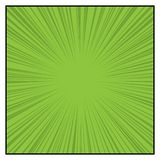 Comics Color Radial Speed Lines graphic effects. Royalty Free Stock Photography