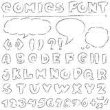 Comics eingestellt Stockbild