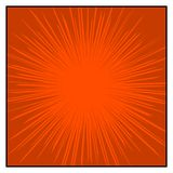 Comics färben RadialgeschwindigkeitPseudografikeffekte Stockbilder