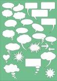 Comics-Luftblasen Stockbilder