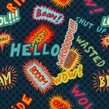 Comics pattern Stock Photos