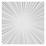 Comics Radial Speed Lines graphic effects. Vector. Illustration Stock Photos
