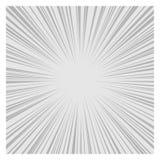 Comics-RadialgeschwindigkeitPseudografikeffekte Vektor Stockfotos
