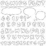 Comics set Stock Image
