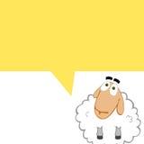 Comics sheep Stock Image
