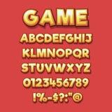 Comics style alphabet collection. illustrator Eps 10. Comics style alphabet collection set. illustrator Vector Eps 10 royalty free illustration