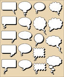 COMICS WORD Royalty Free Stock Images