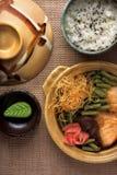 Comida asiática imagen de archivo libre de regalías