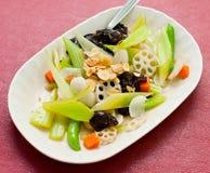 Comida asiática china de la colección Fotografía de archivo
