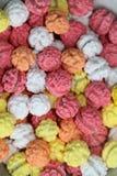 comida basura asada pintada colorida del chickpeasi fotos de archivo libres de regalías