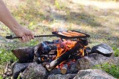 Comida campestre al aire libre foto de archivo libre de regalías
