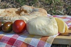 Comida campestre al aire libre Fotos de archivo