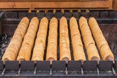Comida checa en mercado de los granjeros Fotos de archivo libres de regalías