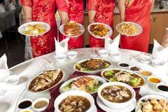 Comida china Imágenes de archivo libres de regalías