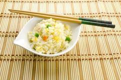 Comida china, arroz del cantonese Fotos de archivo libres de regalías
