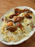 Comida china del vegetariano de Luohan del Año Nuevo Imágenes de archivo libres de regalías