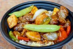 Comida china sabrosa 1 imagenes de archivo