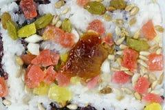 Comida clasificada del arroz pegajoso fotos de archivo libres de regalías