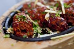 Comida cocinada del kebab Fotos de archivo