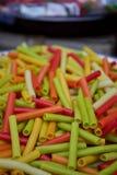 Comida colorida Imagenes de archivo