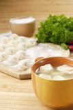 Comida de Asia de la sopa de Wonton imagen de archivo