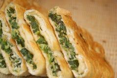 Comida de China: crepe de la cebolla verde Fotografía de archivo libre de regalías